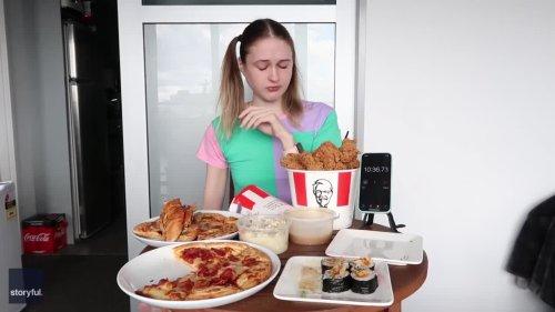 Epic 10,000 Calorie Challenge Taken On by New Zealander