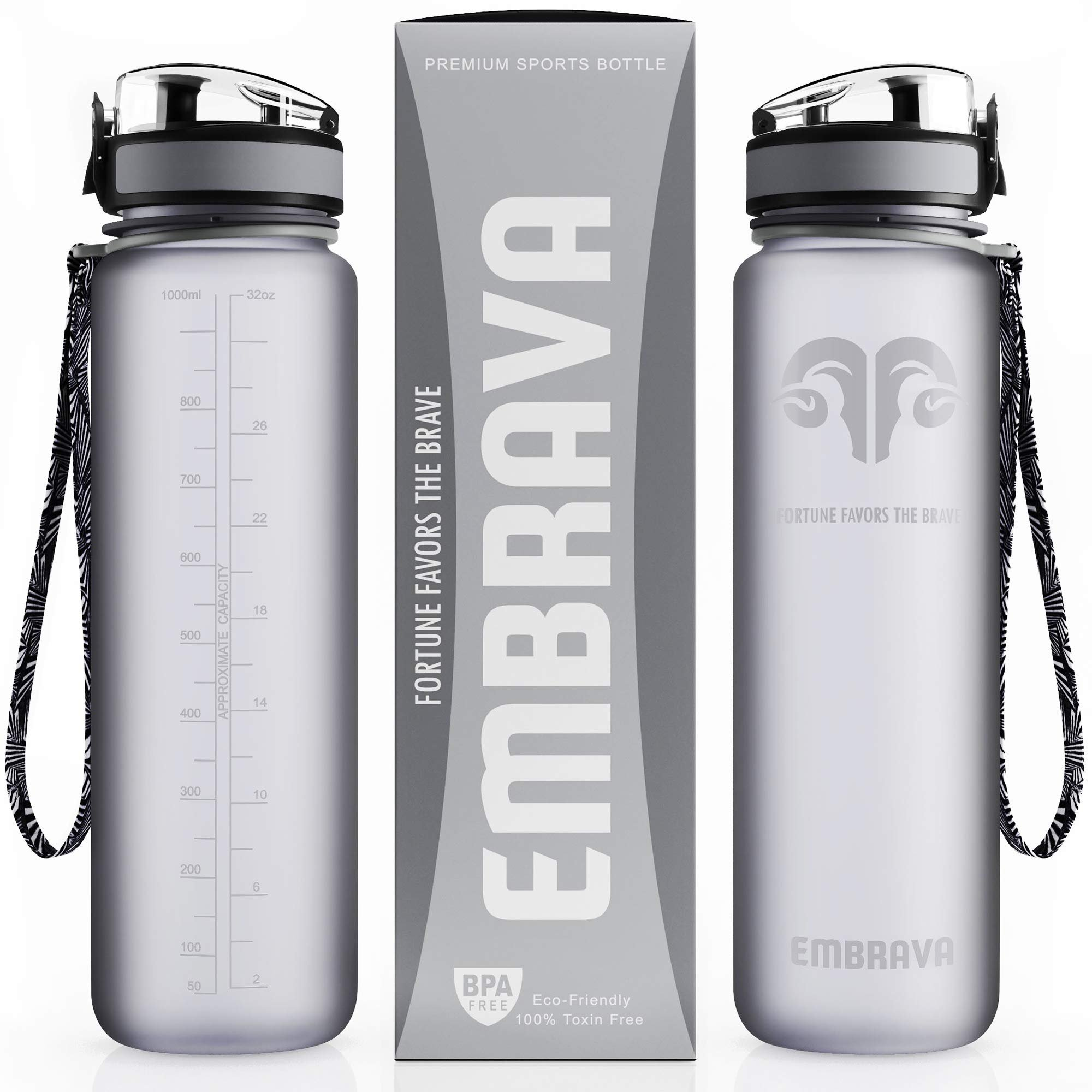 Save 27% on a BPA-free & leak-proof water bottle with measurements