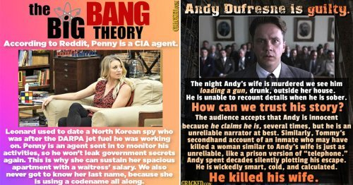Fascinating Fan Theories That Actually Make A Lot Of Sense