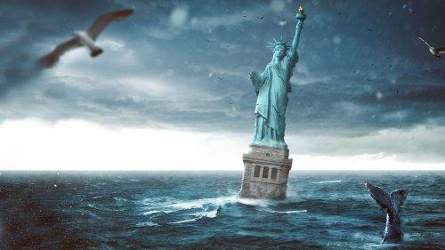 What If North Korea Tsunami-bombed America?