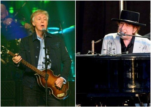 McCartney tells amazing story of Bob Dylan getting the Beatles high