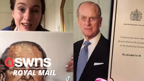 """UK woman paints """"pretty awful"""" portrait of Prince Phillip - then sends it to the Queen!"""
