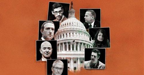 10 Highlights From Congress's Tech Antitrust Hearings