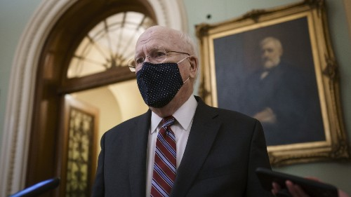 Sen. Patrick Leahy Expected To Preside Over Impeachment