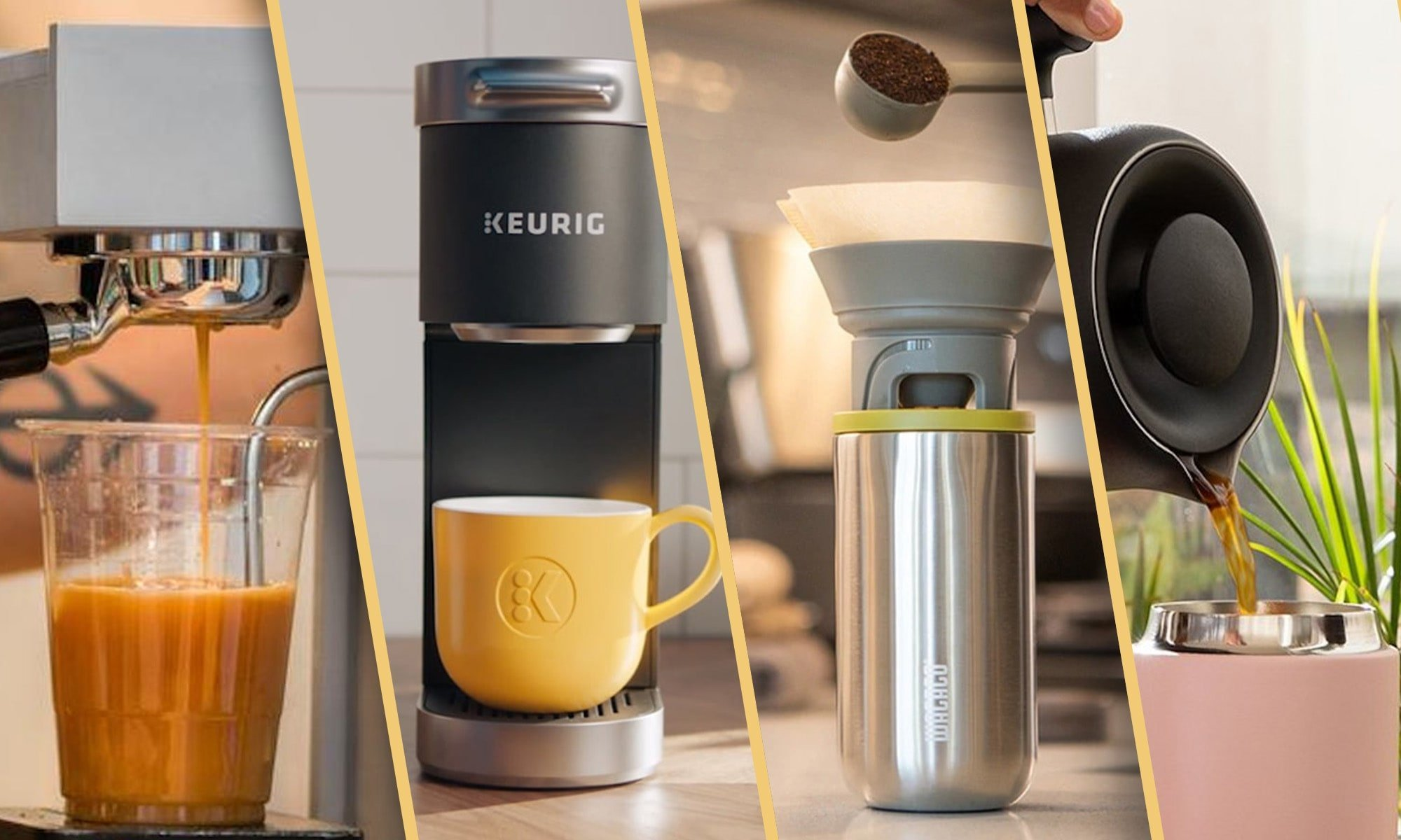 Coffee machines you've never seen before