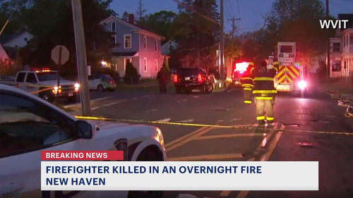 Officials ID firefighter killed in New Haven 2-alarm fire