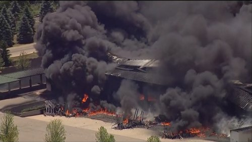 Fire At Illinois Chemical Plant Still Burning