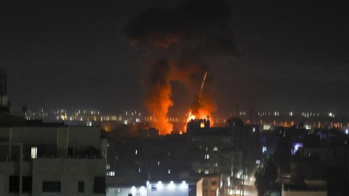Israeli airstrikes target Gaza sites after Palestinians launch incendiary balloons