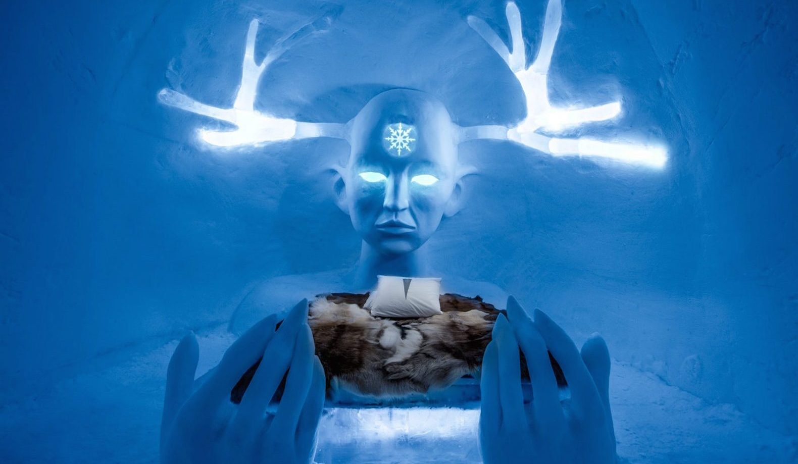 Sweden's Ice hotel is the place to be in this heat wave
