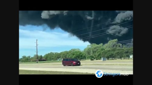 US: Chemical plant fire prompts evacuation of nearby residents in Northern Illinois