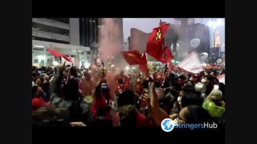 Fresh protests in Sao Paulo, Brazil against Bolsonaro's handling of Covid pandemic