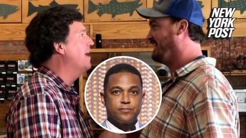 Don Lemon blasts man who harassed Tucker Carlson in viral video