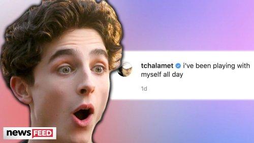 Timothée Chalamet's TMI Instagram SHOCKS Fans!