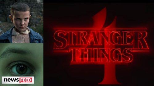 New 'Stranger Things 4' Teaser Sees Eleven In DANGER?!