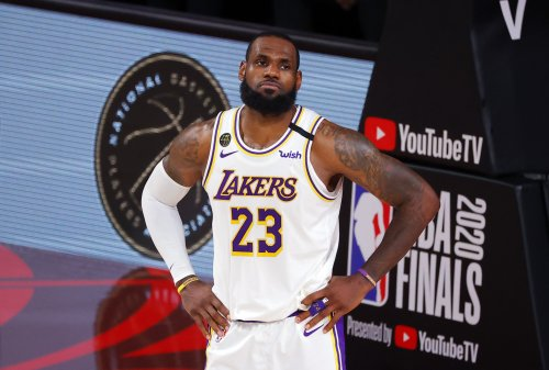 The LeBron-police saga has reached the 'cops making viral TikToks' stage