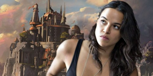 Dungeons & Dragons Pics Surface of Michelle Rodriguez in Costume