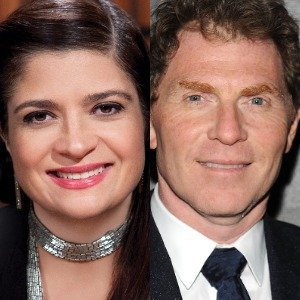 Why Alex Guarnaschelli Originally Couldn't Stand Bobby Flay