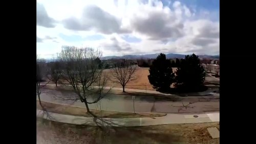 Timelapse shows snowstorm in Colorado