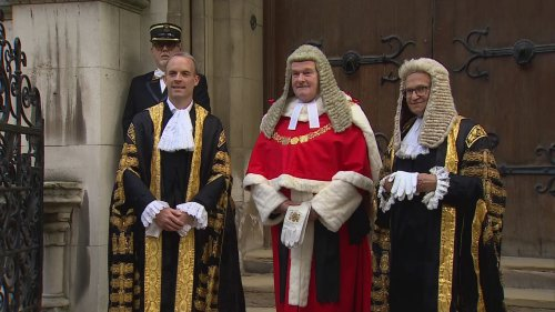 Dominic Raab sworn in as new Lord Chancellor