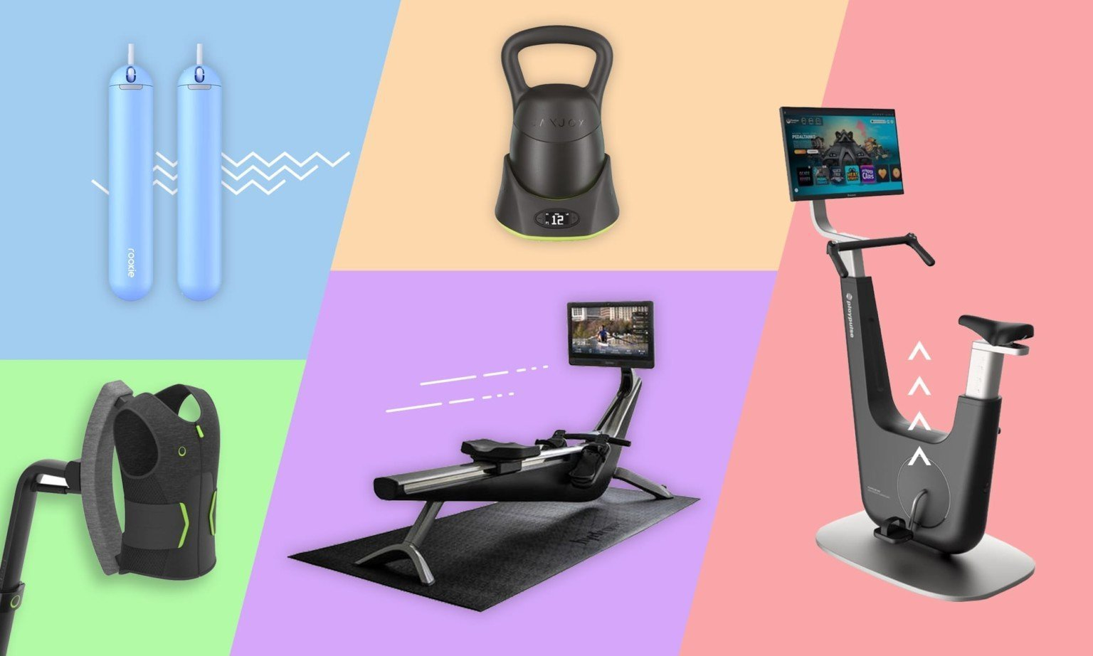 Never-seen-before workout gadgets and gear