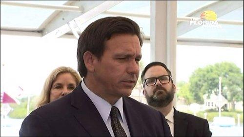 Gov. Ron DeSantis discusses pipeline shutdown