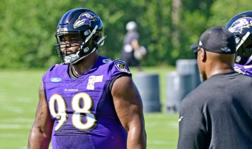Ravens' Brandon Williams on who he relies on during the season   VIDEO