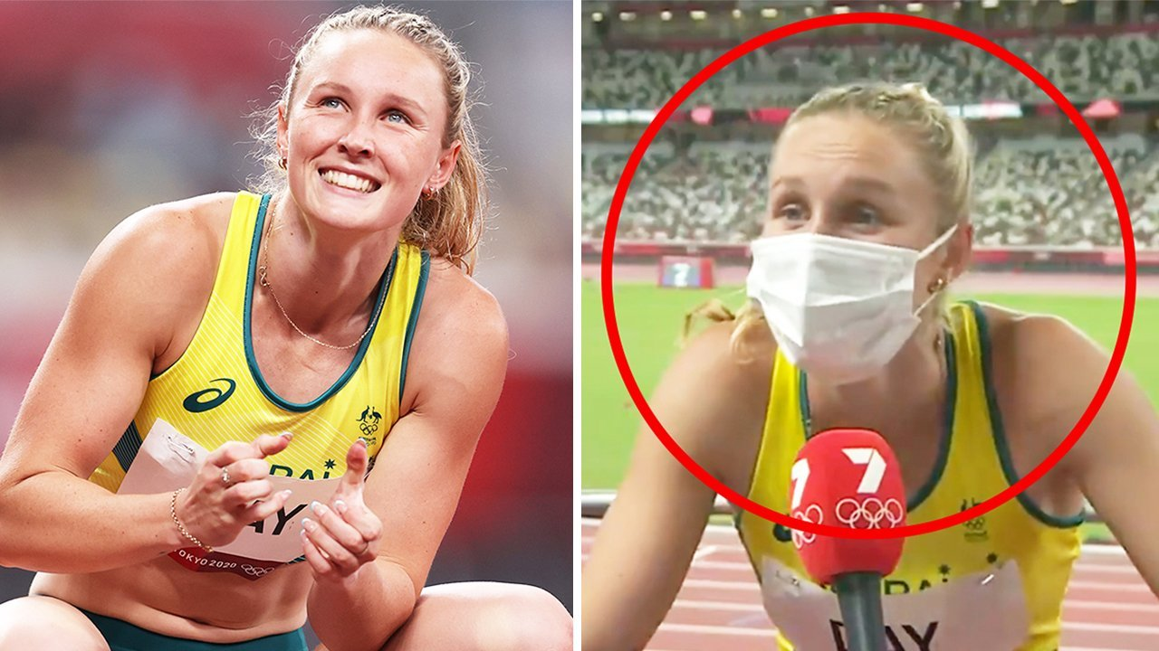'Power of TV': Australia loses it over Olympian's 'beautiful' live act
