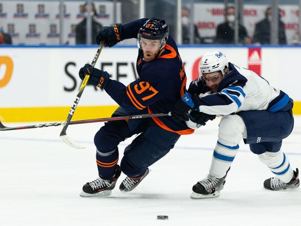 Edmonton Oilers drop a close Game 1 to the Winnipeg Jets