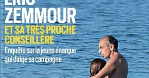 """Zemmour dans Paris Match : vraie ou fausse """"paparazzade"""" ?"""