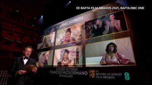 "Drama ""Nomadland"" wins best film at BAFTA awards"