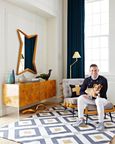This is all the interior design inspiration Jonathon Adler wants you to know