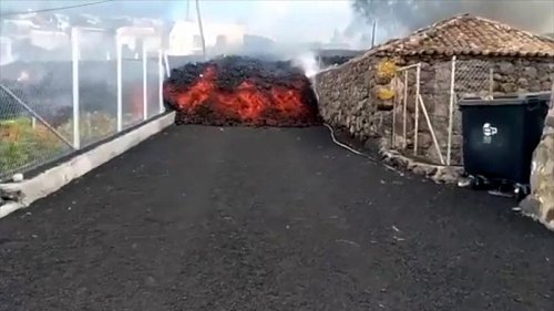 Canary Islands: Lava engulfs 100 homes after The Cumbre Vieja erupted