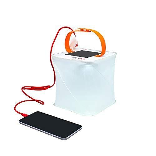 Lightweight camping lantern & phone charger