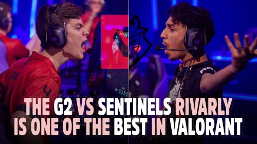 G2 vs SENTINELS rivarly is one of the BEST in VALORANT