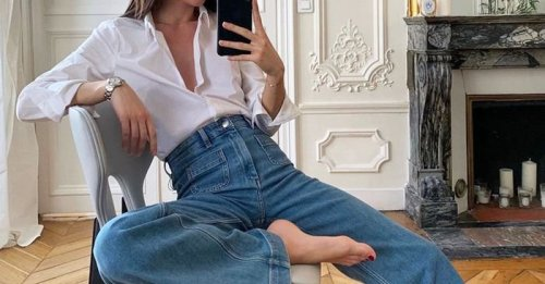 """The """"sexy"""" denim trend that's making me rethink all of my baggy jeans"""