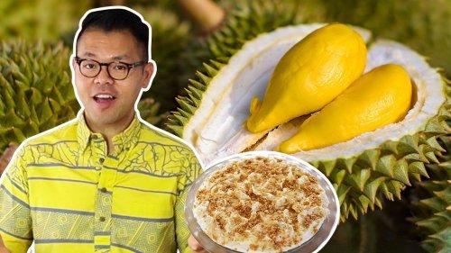 How To Make A No-Bake Durian Pie