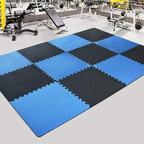Customizable gym mat tiles to fit any space