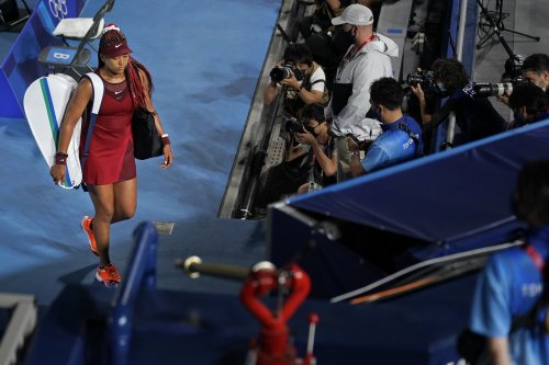 Disbelief, support in Japan after Naomi Osaka's elimination