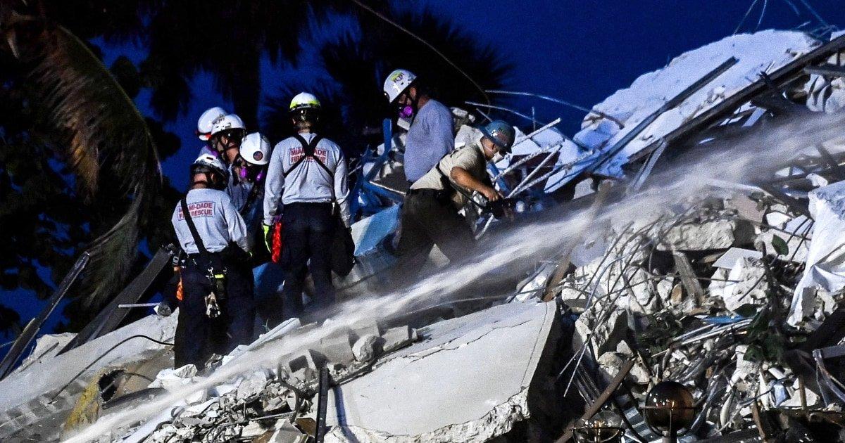 Death toll rises in condo collapse near Miami Beach