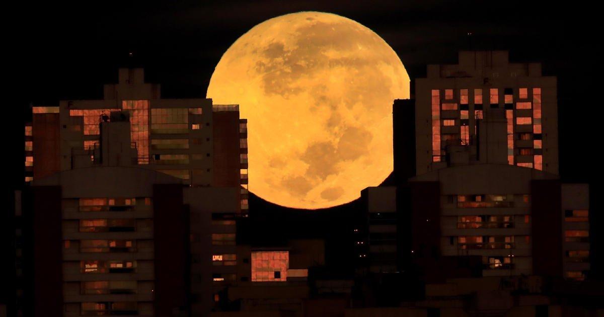 "Rare ""super flower blood moon"" lunar eclipse: See the stunning photos"