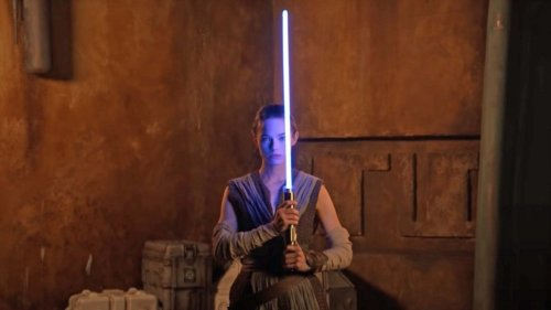 Disney has made a 'real' lightsaber - see it in action!