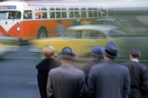 Vintage New York City in color