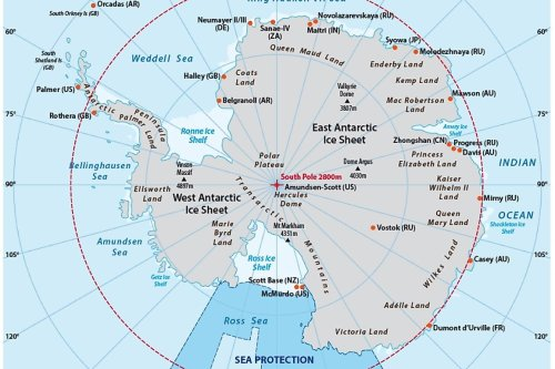 Why do so many nations want a piece of Antarctica?