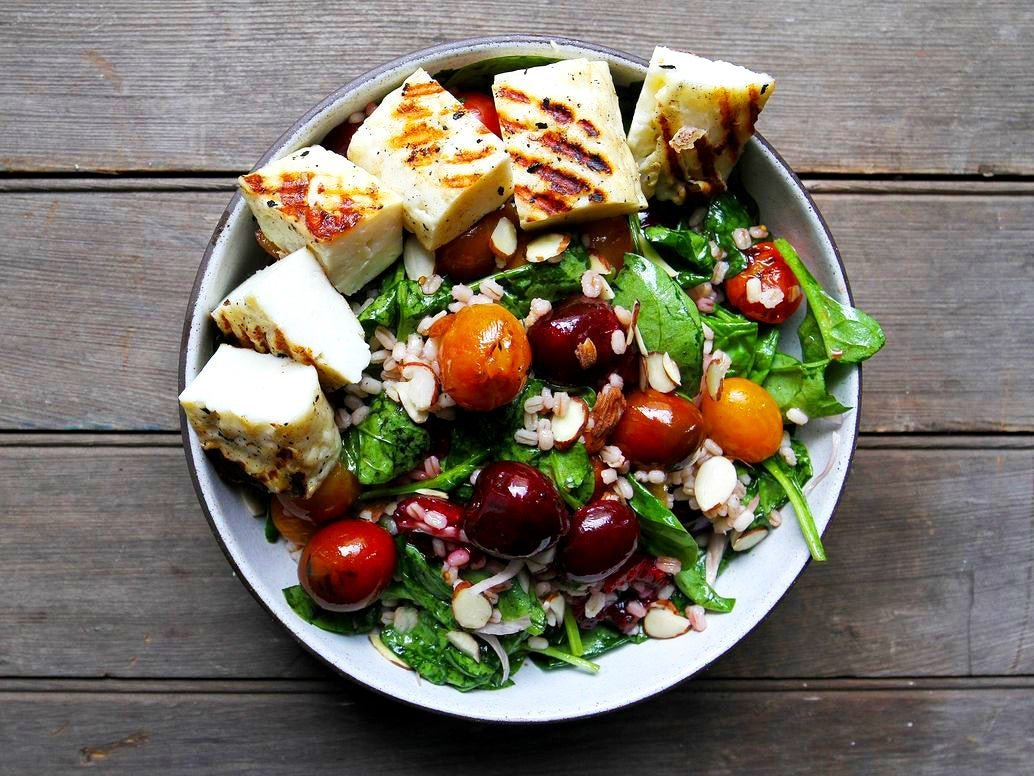 If you ever wondered what summer tastes like, try these grilled salads