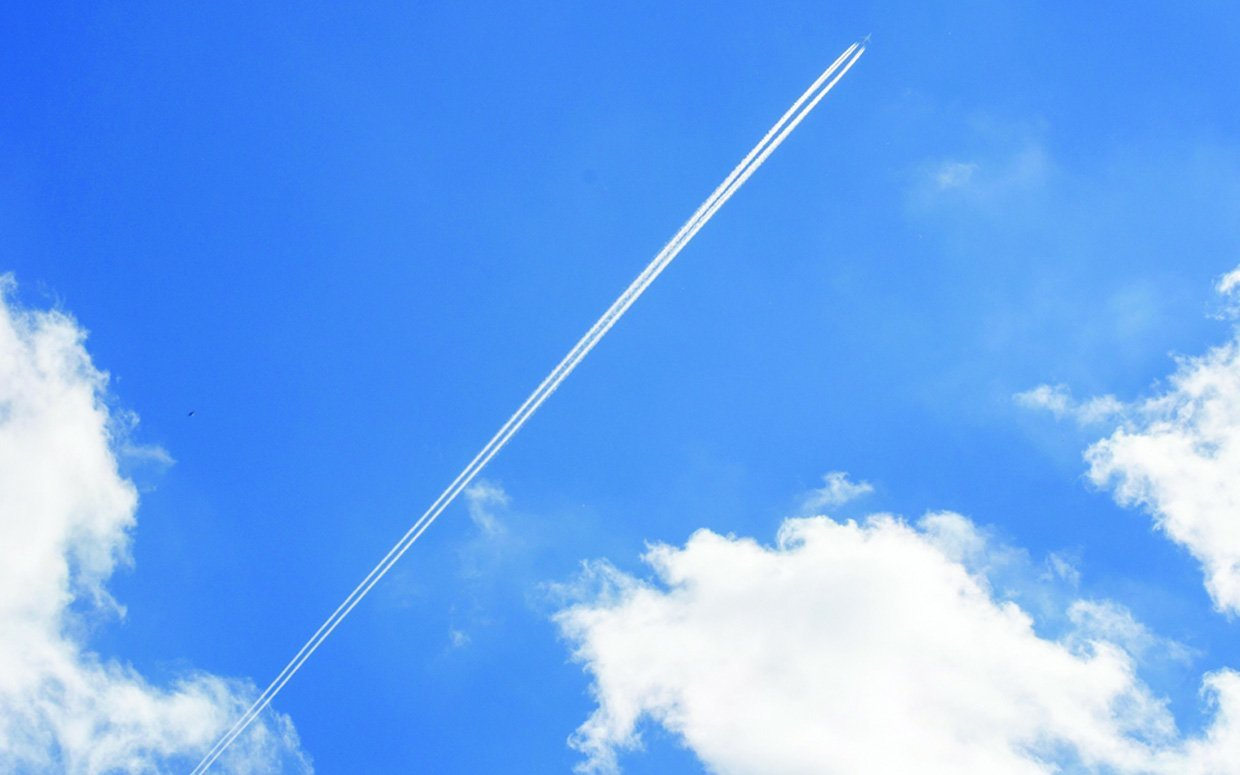 What Are Those White Trails Left Behind by Jets?