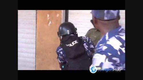 Police officer nearly shoots his commander in Kampala, Uganda
