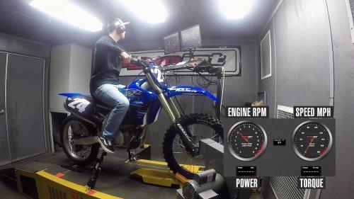 2021 Yamaha YZ250F Dyno Test