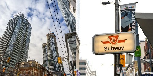This Map Reveals How Much Toronto Rent Costs Based On The Closest Subway