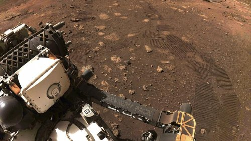 NASA's Mars rover Perseverance does first drive on red planet