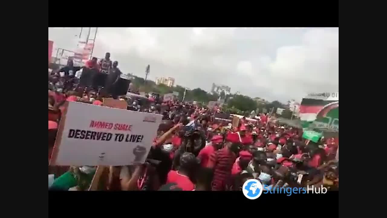 NDC hits streets with 'March for Justice' in Accra, Ghana